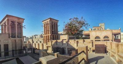 Bastakia-quarter